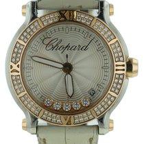 Chopard Happy Sport 18k Rose Gold & Stainless Diamond Watch