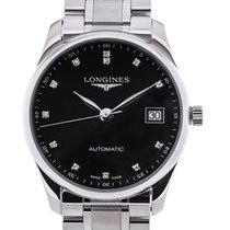 Longines Master 36 Black Dial