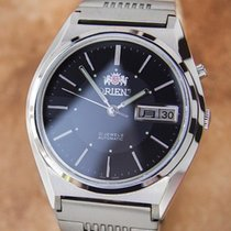 Orient Vintage Mens 21 Jewels Automatic 1970's Stainless...