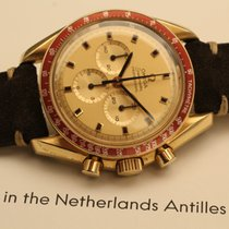 Omega speedmaster professional apollo xi de luxe yellow gold 1969