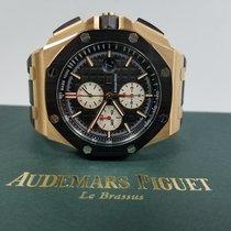 Audemars Piguet AP Offshore Chronograph 44mm Rose Gold Rubber...