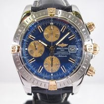 Breitling Chronomat Evolution Gold/Steel Blue