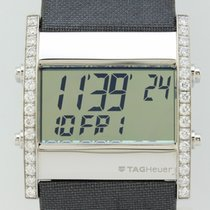 TAG Heuer Microtimer  Diamonds Quartz Steel Unisex CS111F