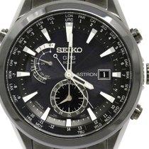 Seiko Astron Sbxa007 Titanium Gps Solar Mens Watch 7x52-0aa0...