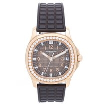 Patek Philippe Ladies 18k Rose Gold Aquanaut Watch 5068R-001