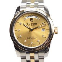 帝陀 (Tudor) New  Glamour Date Gold And Steel Gold Automatic...