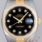 Rolex パーペチュアル デイトジャスト メンズ ブラック Datejust Black