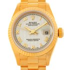 Rolex President Ladies 18k Yellow Gold Watch 69178
