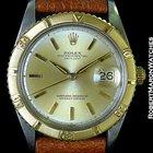 Rolex Datejust Thunderbird 1625 18k/steel 1960