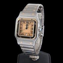 Cartier SANTOS STEEL AND GOLD MEN SIZE QUARZT