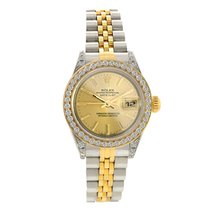 Rolex Lady DateJust with 1.25 ct. of Custom Set Diamonds