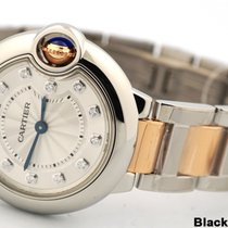 Cartier Ballon Bleu 18k Rose Gold Stainless WE902030