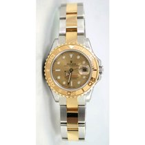 Rolex Yachtmaster Model 169623 Ladies Stainless Steel &...