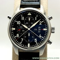 IWC Pilots Double Chronograph Serial