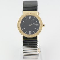 Bulgari 18k Yellow Gold & Stainless Steel BB33GSCD