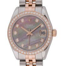 Rolex - Datejust Midsize 31MM : 178271 dark Mother of Pearl...
