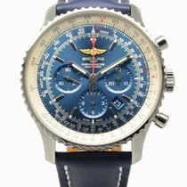Breitling Navitimer 01 Chronograph Automatic Watch 46mm Blue...