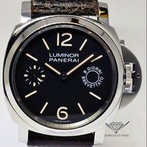 Panerai Luminor 8 Day Power Reserve Steel Mens Watch Box/Paper...