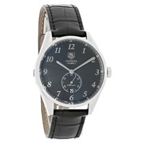 TAG Heuer Carrera Heritag Mens Black Dial Swiss Automatic...