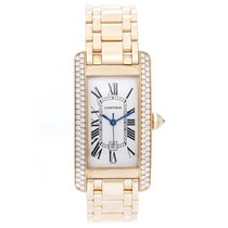 Cartier 18k Tank Americaine Midsize Men's/Ladies 18k...