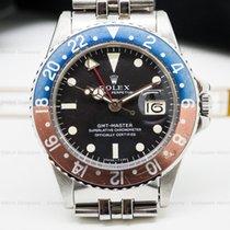 "Rolex 1675 Vintage GMT Master ""Pepsi Bezel"" SS /..."