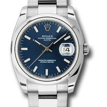 Rolex 115200 Oyster Perpetual Date 34mm Unisex Watch