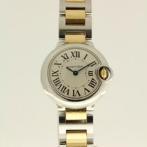 Cartier Ballon Bleu 28mm from 4-2014 complete with box and papers