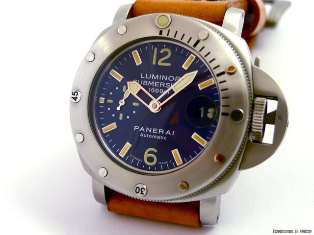 Panerai Luminor Submersible, &amp;#34;La Bomba&amp;#34;, PAM 87, 1000m