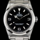Rolex Stainless Steel O/Perpetual Black Dial Explorer I...