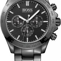 Hugo Boss IKON Chrono schwarz 1513197 Herrenchronograph...