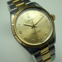 Rolex Zephyr style 18k & steel w/rare dial c.1986