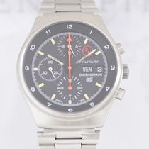 Porsche Design Orfina Chronograph Stahl Lemania 5100 Military...