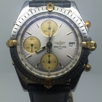 Breitling CHRONOMAT 40MM STEEL/GOLD VERY RARE GREY DIAL