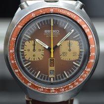 Seiko Bullhead Chronograph Anno 1976 Brown Dial