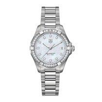 TAG Heuer Aquaracer 32mm Date Quartz Ladies Watch Ref WAY1314....