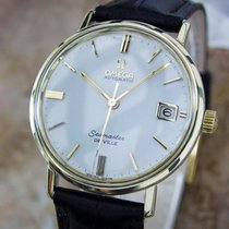 Omega Seamaster Deville Mens 1960s Gold Capped Automatic Dress...