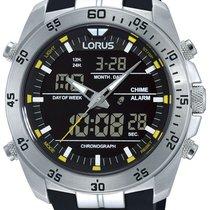 Lorus RW619AX9 Analog-Digital Alarm Chronograph 100M 46mm