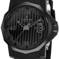 Corum Admiral's Cup Competition 40mm in Black PVD Steel