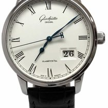 Glashütte Original Senator Panorama Date Stainless Steel...