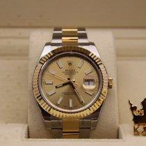 勞力士 (Rolex) 116333   Datejust Gold Dial  Men
