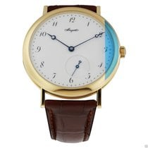 Breguet Classique 5140ba/29/9w6 18kt Yellow Gold Leather...