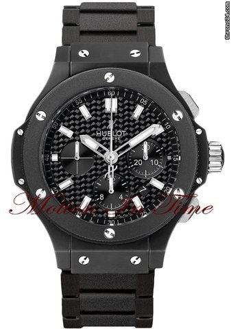 "Hublot Big Bang Black Magic Evolution ""All-Black"" BLACK HOLE RARE"