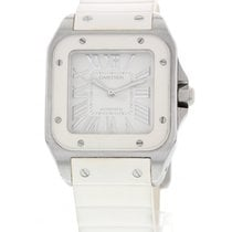 Cartier Midsize Stainless Steel Cartier Santos 100 Automatic 2878