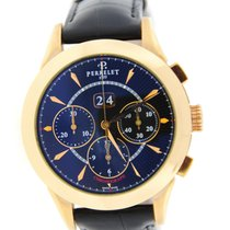 Perrelet Big Date Chronograph Automatic 18K Rose Gold