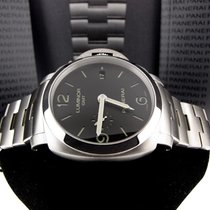 Panerai (NEW)LUMINOR 1950 3 DAYS GMT AUTOMATIC ACCIAIO - 44mm