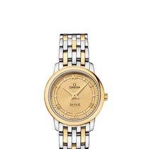 Omega Ladies 42420276058003De Ville Prestige Champagne Watch