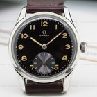 Omega Vintage Manual Wind 30T2 Military Dial SS