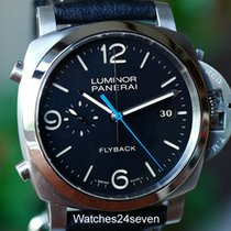 Panerai PAM 524 Luminor 1950 3 Days Auto Flyback Acciaio 44mm