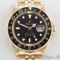Ρολεξ (Rolex) GMT Master I 16758 Gelbgold 750 Automatik