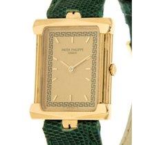 Patek Philippe Greek 4731 Yellow Gold, Leather, 20x27mm